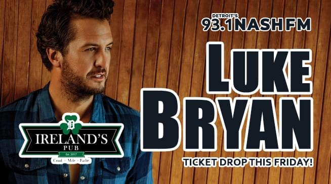 Luke Bryan Ticket Drop This Friday!