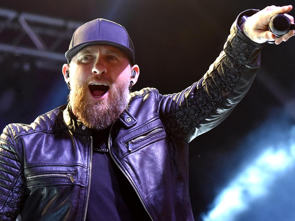 """Brantley Gilbert's """"Fire & Brimstone"""" Debuts at No. 1 on Billboard's Top Country Albums Chart"""