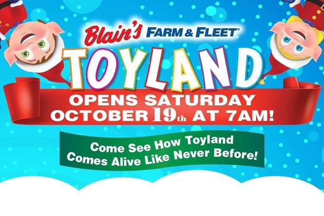 Farm & Fleet's Toyland Opens This Saturday