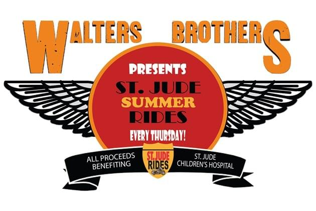 Win A Harley With St Jude Destination Rides From Walters Brothers Harley Davidson
