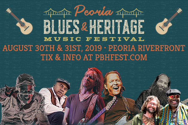 The 31st Annual Peoria Blues & Heritage Music Festival is Coming!