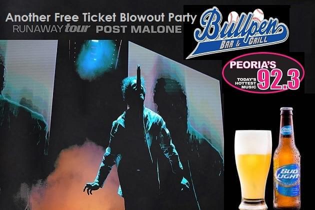 Free Post Malone Ticket Hook Ups Start Monday With ORyan!