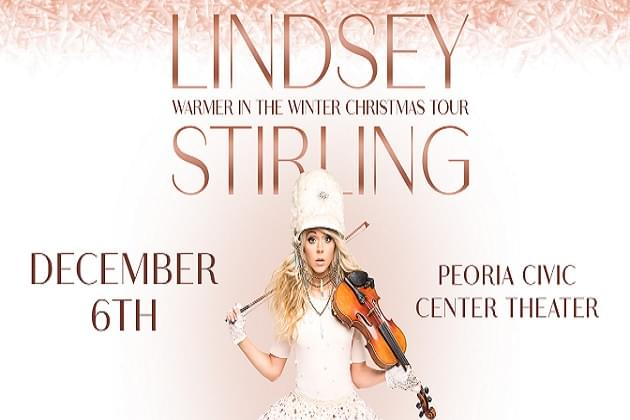 Lindsey Stirling Is Coming To PCC! Win Tickets On Peorias 923