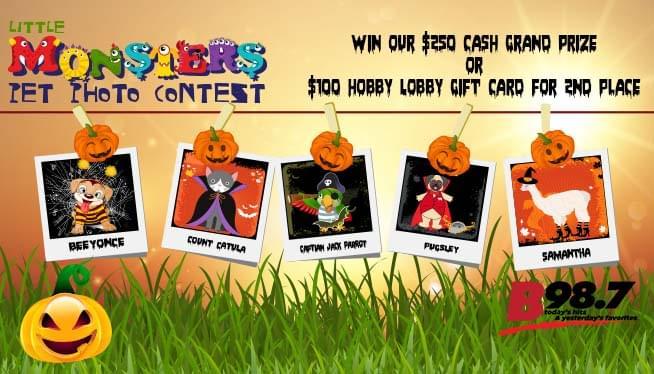 Little Monsters Pet Photo Contest