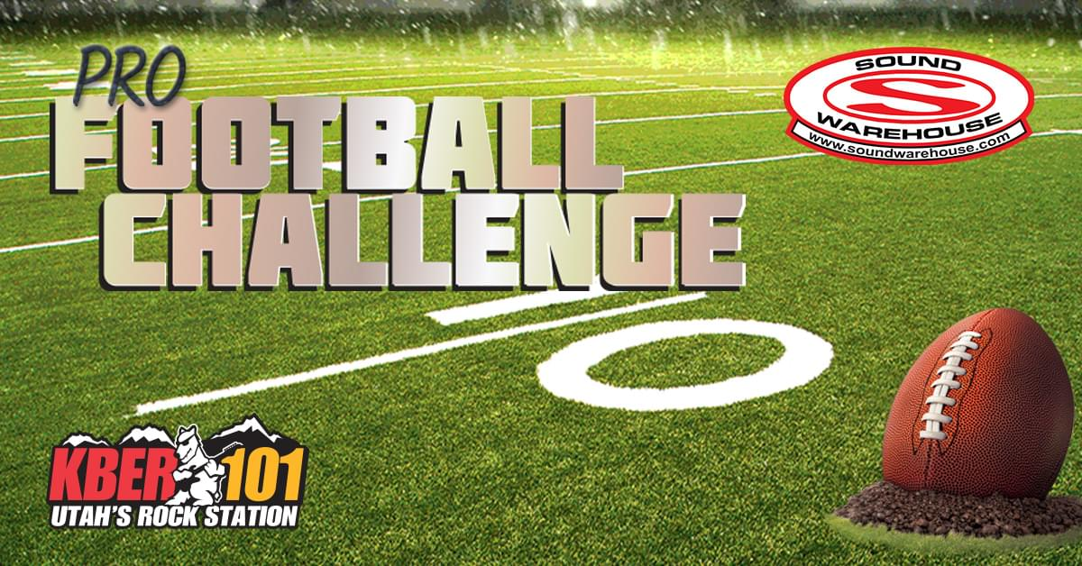KBER 101 Pro Football Challenge: Make Your Picks to Compete for a $500 Gift Card for Sound Warehouse