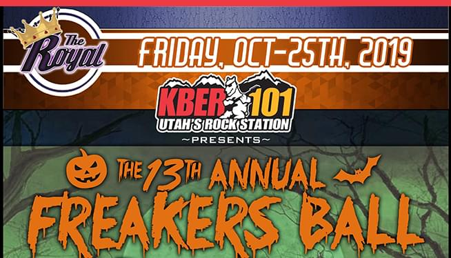 The 13th Annual Freakers Ball @ The Royal Oct 25th 2019!