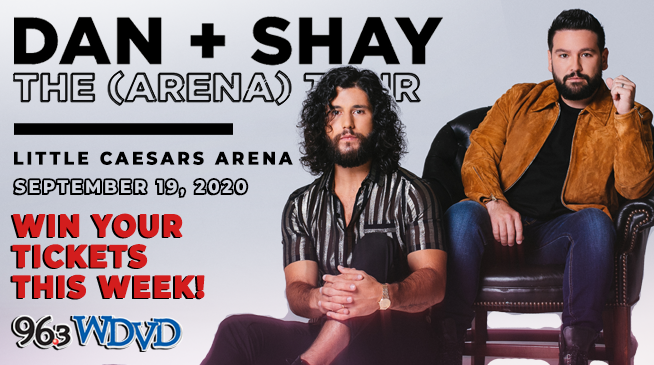 Win Tickets to see Dan + Shay!