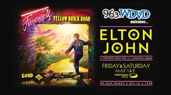 Elton John Farewell Yellow Brick Road Farewell Tour 2020