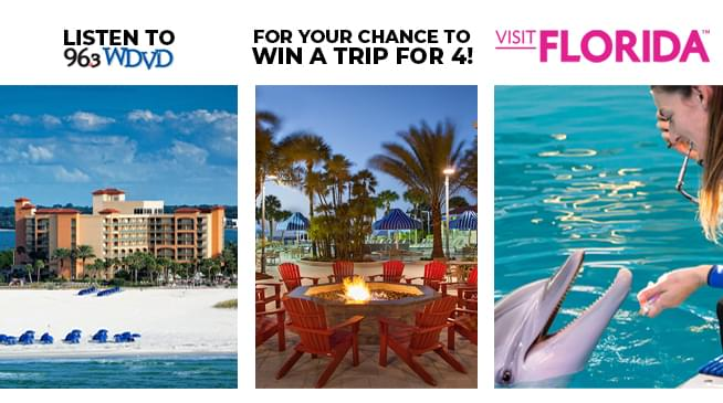 Win a Trip to Clearwater Beach, Florida!