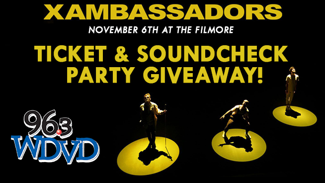 Ticket and Soundcheck Party Giveaway!