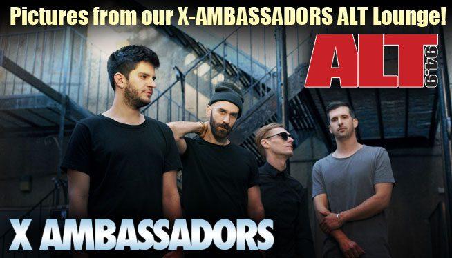 x aMBASSADORS recap page
