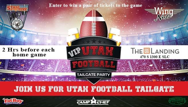 Win 2 Passes to Our VIP Utah Football Tailgate Party