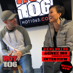 EXCLUSIVE INTERVIEW: Agnez Mo at Hot 106