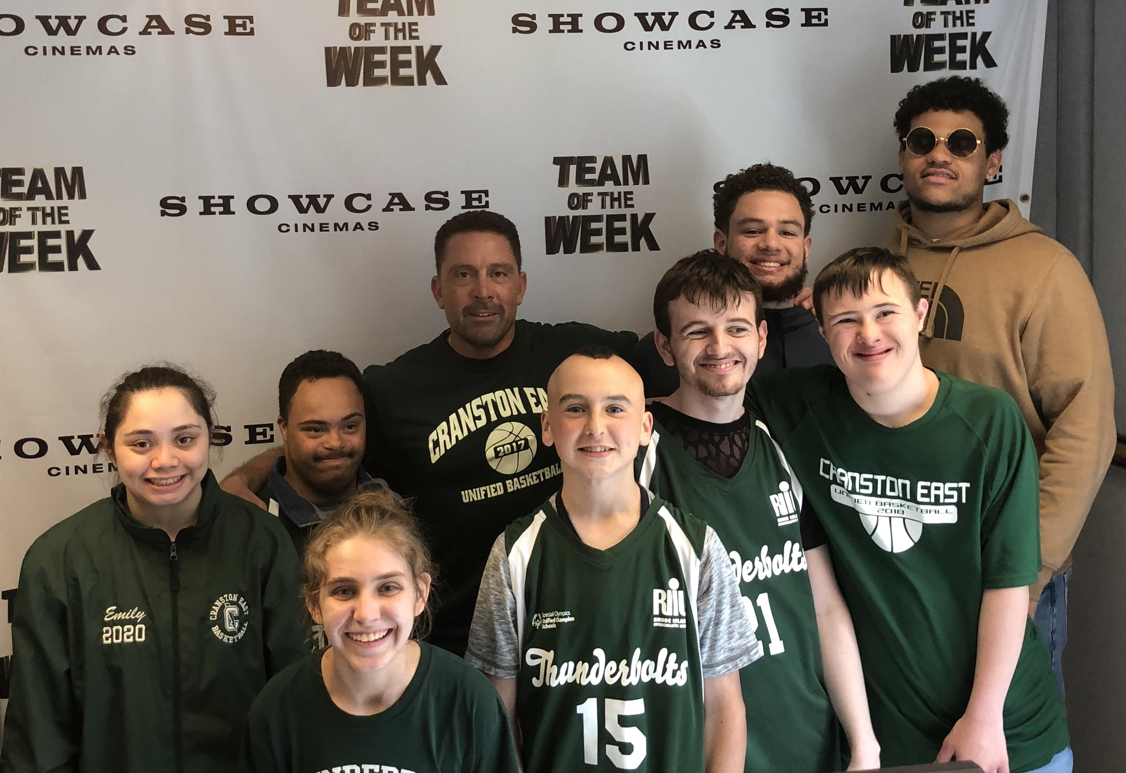 Cranston East Unified Basketball Team