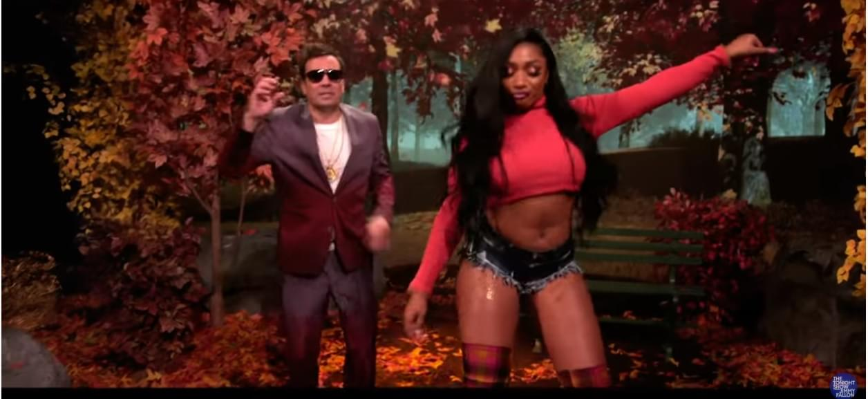 Hot Girl Fall is Here with Megan Thee Stallion + Jimmy Fallon