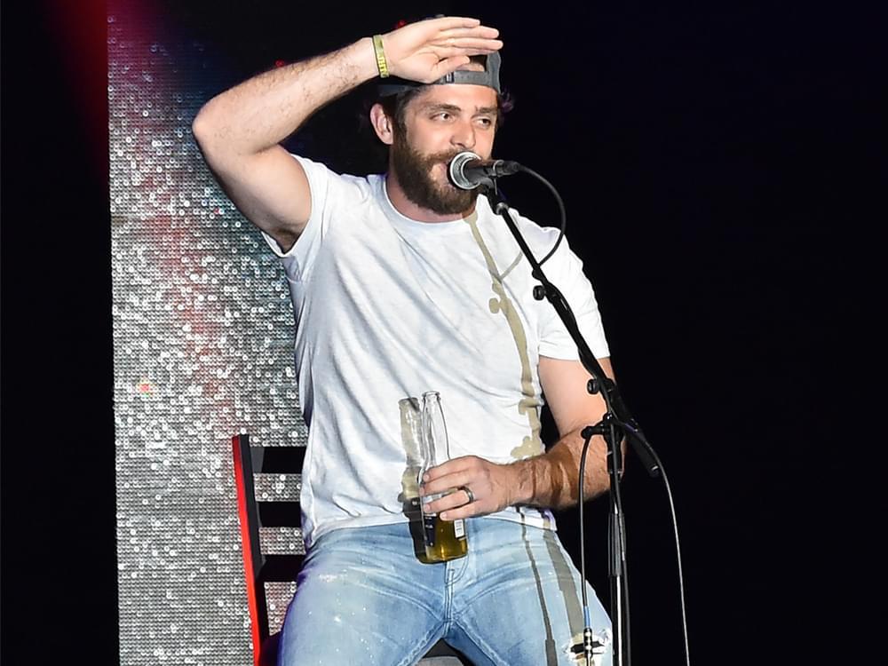 "Thomas Rhett Taps Jon Pardi for New Song, ""Beer Can't Fix"" [Listen]"