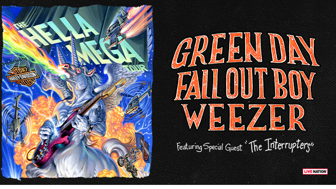 CONCERT: Green Day, Fall Out Boy, & Weezer – August 19, 2020