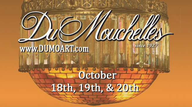 DuMouchelles, Auction at the Gallery – October 18 through October 20