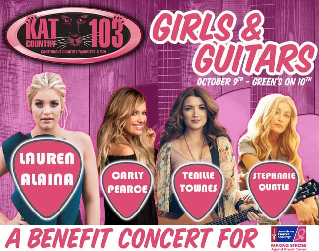 Girls & Guitars may be over BUT you can still help by joining Jaimee Lee and Erin…