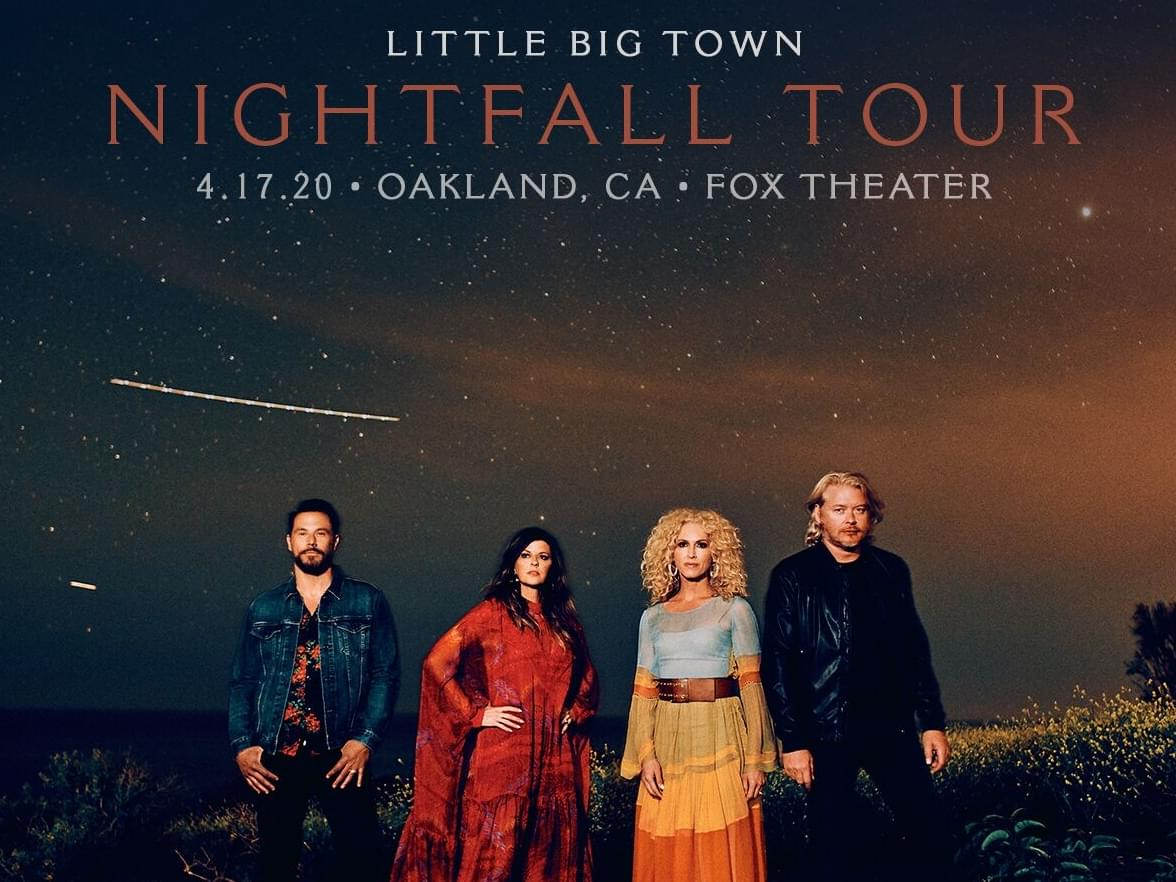 Little Big Town LIVE at the Fox Theater in Oakland!