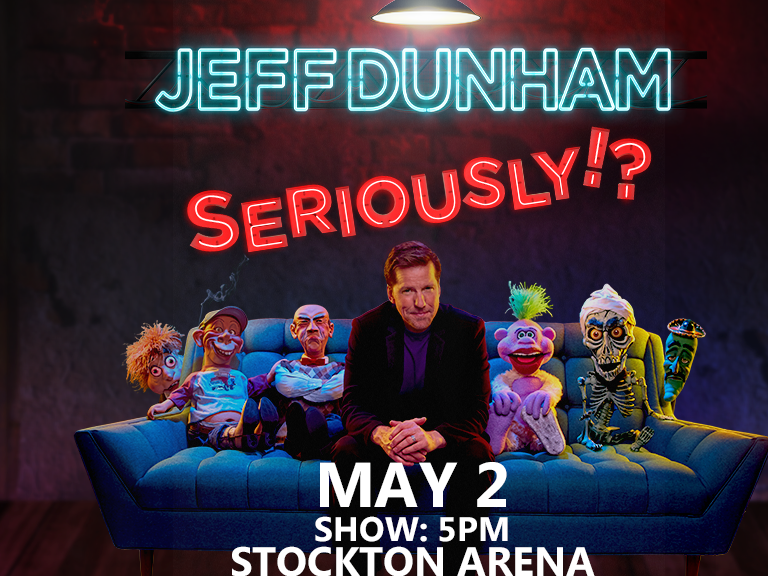 Jeff Dunham is coming to Kat Country May 2nd