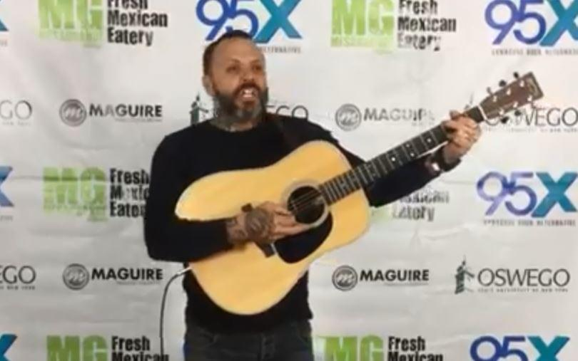 Justin from Blue October | 95X Basement Session