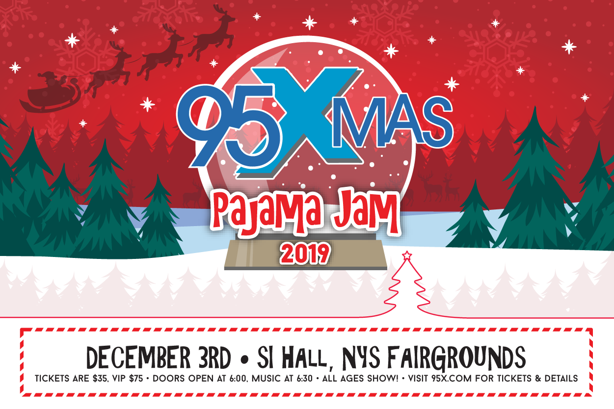 95X-Mas Pajama Jam is Back!!!