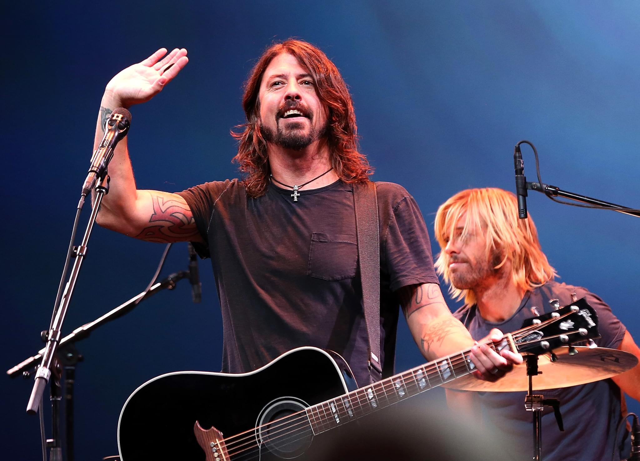 Dave and Violet Grohl Cover Billie Eilish For Charity