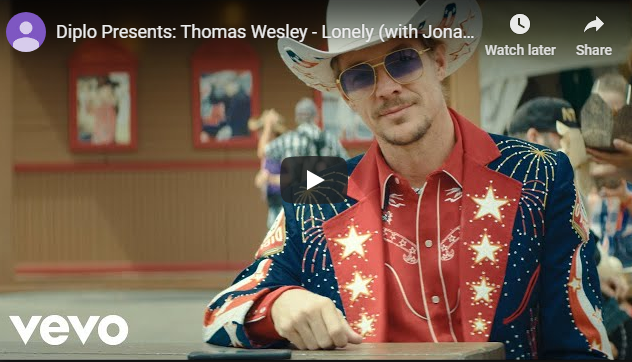 "Rick's Pick – Diplo Presents: Thomas Wesley – ""Lonely"" (with Jonas Brothers)"