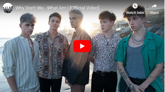 "Rick's Pick – Why Don't We – ""What Am I"""