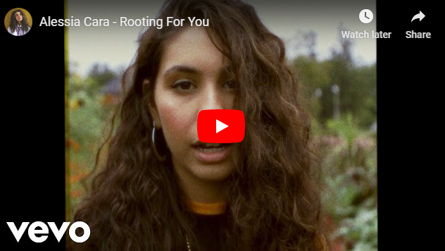 "Rick's Pick – Alessia Cara – ""Rooting For You"""