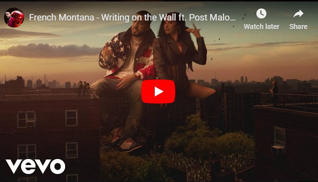 """Rick's Pick – French Montana – """"Writing on the Wall"""" ft. Post Malone, Cardi B, Rvssian"""