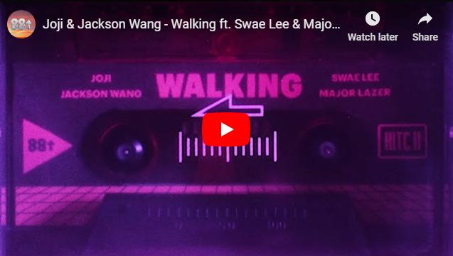 "Rick's Pick – Joji & Jackson Wang – ""Walking"" ft. Swae Lee & Major Lazer"