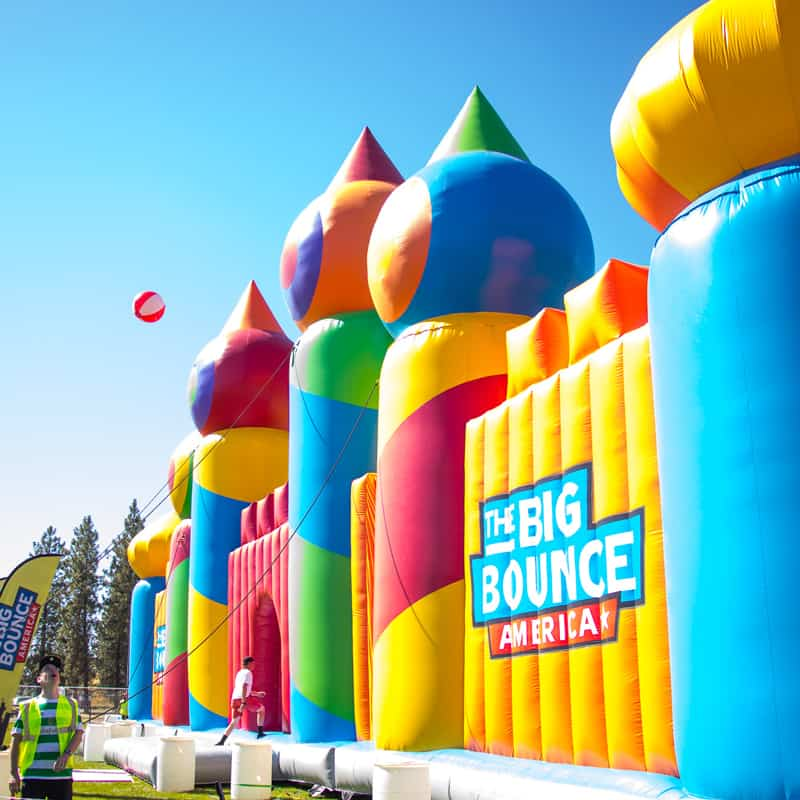 The World's Largest Bounce House Is Coming To Houston