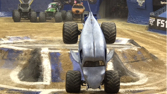 Crush This Holiday Season With Monster Trucks!