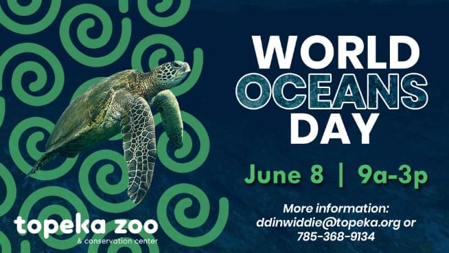 Celebrate World Oceans Day In Topeka