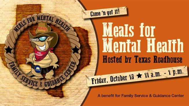 Meals for Mental Health Fundraiser