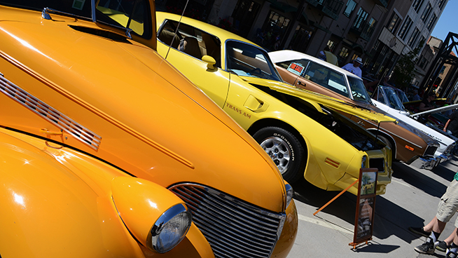 Things To Do at The Eagle's Cruise Night Car Show 2018