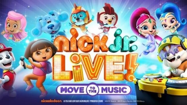 """Nick Jr. Live! """"Move to the Music"""" coming to Topeka"""