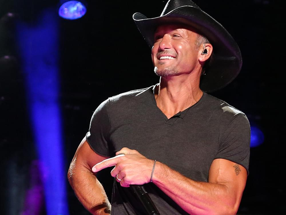 "Tim McGraw Authors New Fitness Book, ""Grit & Grace"""