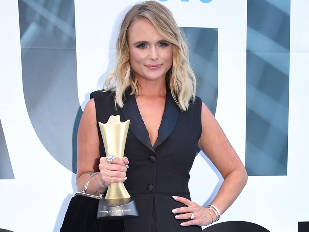 "Miranda Lambert, Tom Douglas & Allen Shamblin Win Inaugural ACM Song of the Decade Award for ""The House That Built Me"""