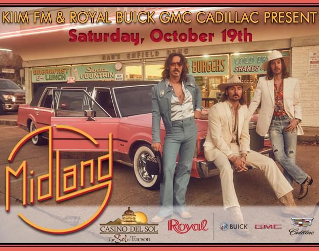 Midland at Ava Amphitheater on October 19th!
