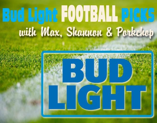 Bud Light Football Picks!