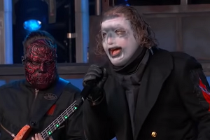 Slipknot Debuts New Song on Kimmel