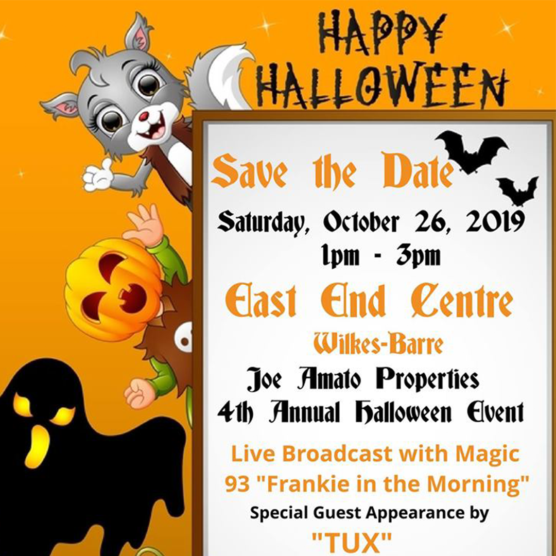4th Annual Halloween Event – Wilkes-Barre