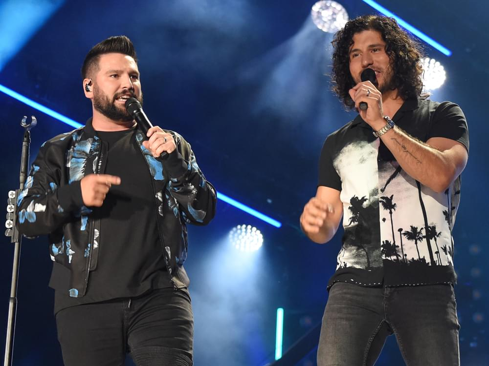 Dan + Shay Win Big at the Teen Choice Awards