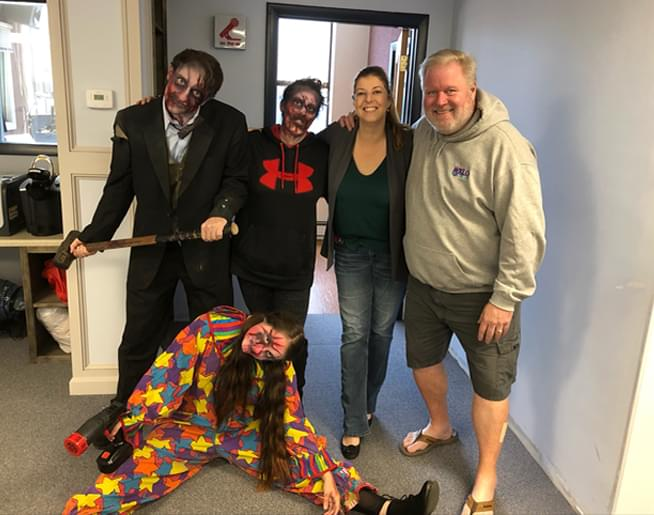 Jen and Frank talk to Jen McGrath from Six Flags about Fright Fest running now through October 27th