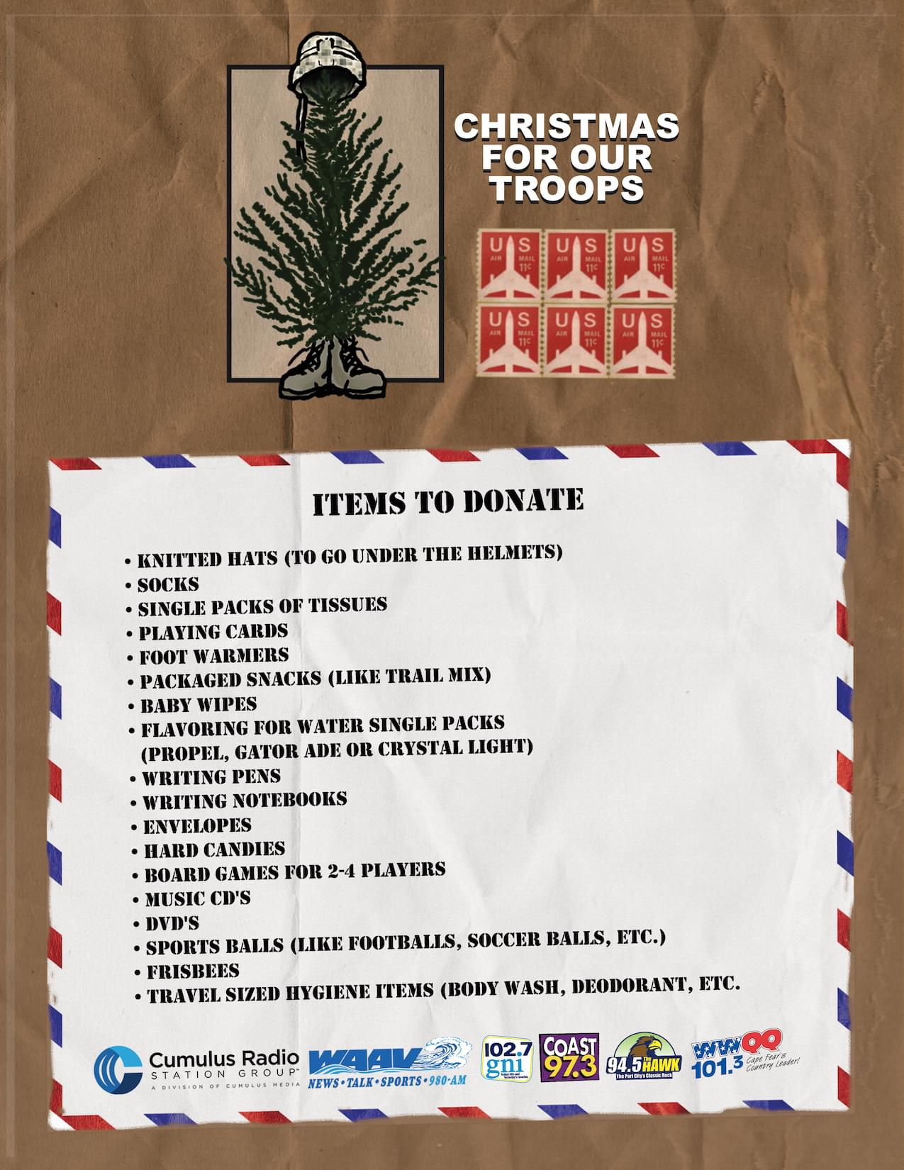 Christmas For Our Troops 2019 Wgni Fm