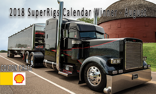 August – Shell Rotella SuperRigs Calendar Winner – Colton Chase