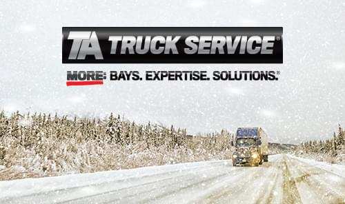 Truck Winterization Tips from TA Truck Service